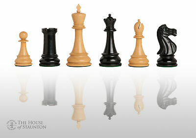 The Sutton Coldfield Commemorative Chess Set - Pieces Only - 4.4  King - Ebonize • 165.21£