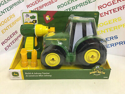 Tomy John Deere Build A Johnny Tractor Buildable Play Set NEW • 21.99£