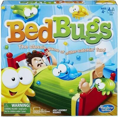 Hasbo Bed Bugs Action Game - E0884 - Brand New In Box • 14.95£