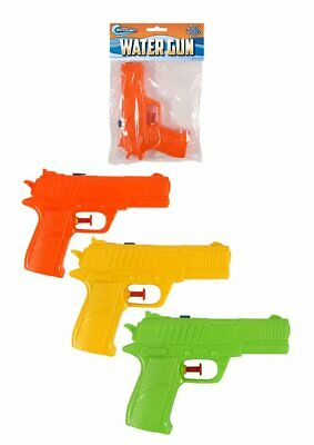 Plastic Water Gun 15cm - Gift Present Toy Loot/Party Bag Fillers Childrens/Kids • 1.79£