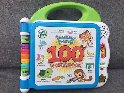 LeapFrog Learning Friends 100 Words Book • 8£