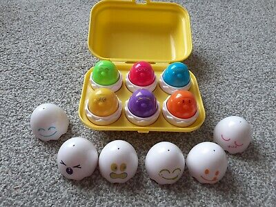 Tomy Hide And Squeak Eggs • 3£