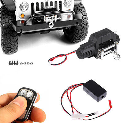 UK Winch Wireless Remote Controller Receiver For 1/10 Axial SCX10 D91 RC Crawler • 24.99£