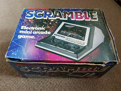 Grandstand Scramble Vintage Arcade Game Boxed Working! With Fast UK Shipping • 45.99£