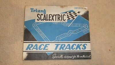 Scalextric First Edition Race Tracks 1960 - Rare - Good Condition • 5.95£