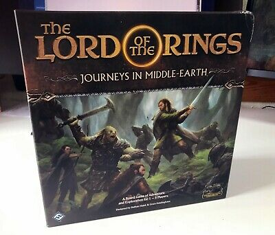 The Lord Of The Rings: Journeys In Middle Earth Board Game • 45.50£