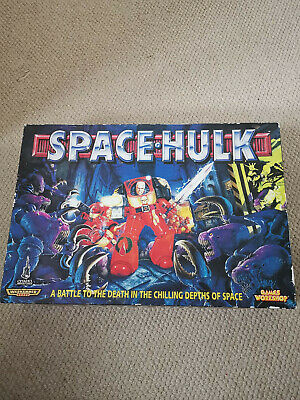 Space Hulk 2nd Edition 1996 Board Game Complete • 31£