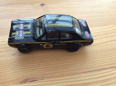 Scalextric 1970s  Ford Escort Mexico Black • 15£