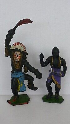 2 Vintage Lone Star(D.C.M.T.) African Natives In 1:32nd Scale  • 2.50£