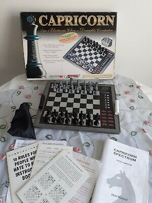 Capricorn Systema Electronic Chess/draughts Set Pre-owned  • 9.99£