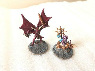 Warmaster Chaos Daemons Khorne Characters X 2 • 8.50£