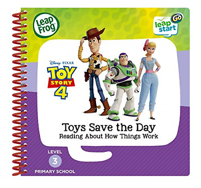 LeapFrog 465003 Toy Story 4 Activity Book, Multicolour • 16.59£