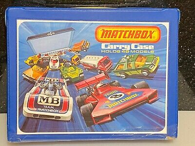 Matchbox Lesney Superfast - 48 Car Collectors Carry Case • 21£