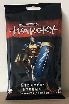 Warhammer Age Of Sigmar Warcry Cards Stormcast Eternals Warrior Chamber • 1£
