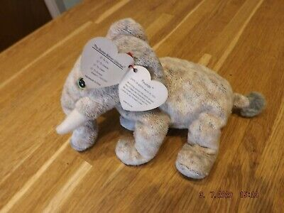 Ty Beanie  Pounds  The Elephant. Dob March 30th 2002 With Tag. Collectables. • 1.70£