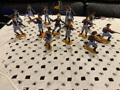 14 Timpo Toys US Cavalry From 1970's • 15.22£