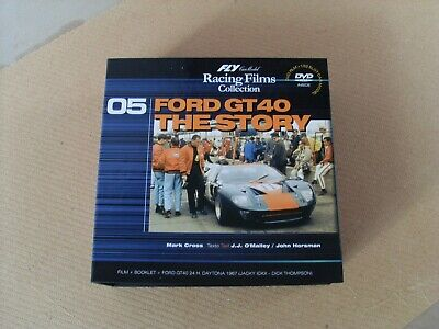 SCALEXTRIC FLY FORD GT40 24th DAYTONA 67 +DVD+ BOOKLET JACKY ICKX-DICK THOMSON • 60£