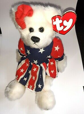 BNWT Ty Attic Treasures Collection Bear - Franny • 5£