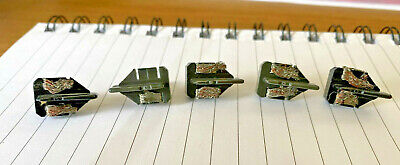 5x Genuine Scalextric LONG STEM Guide Blades Pickups For 70s / 80s / 90s Cars • 9.99£