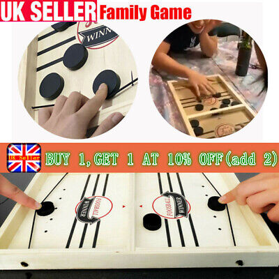 Sling Puck Game Paced Sling Puck Winner Board Family Game Juego Child Toy Fast  • 8.39£