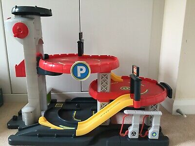 Early Learning Centre Big City Garage With Working Sounds Age 3-8 • 19.99£