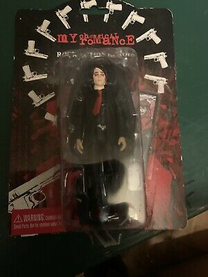 """My Chemical Romance 2005 Rock Action Heroes 4.5"""" Figure Gerard Way Boxed • 50£"""