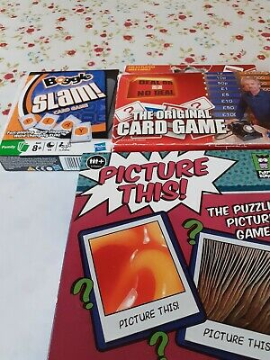 Childrens Card Games X 4 • 3£