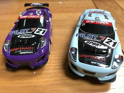 2 X Scalextric Cars GT Lightning. Analogue, Used And Unboxed • 5£