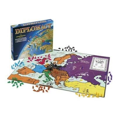 Diplomacy Board Game (Unopened) Gibsons 2-7 Players Strategy Game • 20£