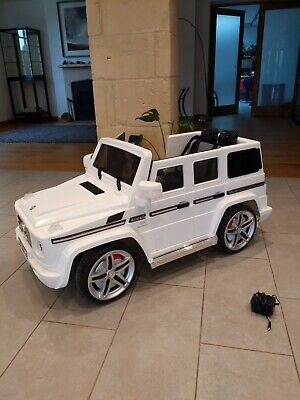 Electric Kids Ride On G Wagon , Mercedes . • 25£