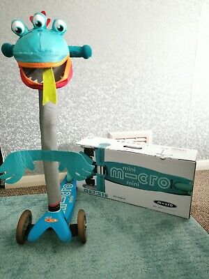 Mini Micro Deluxe Scooter Aqua 2-5 Years With Accessories  • 10£