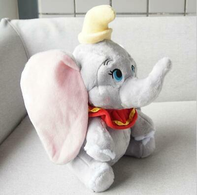 Cute Dumbo The Elephant Large 30CM Plush Soft Toy Baby Gift Teddy Toy Pillow • 8.59£