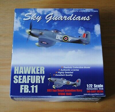 Sky Guardians Hawker Seafury FB.II 803sqn Royal Canadian Navy TF996 1949 1:72 • 25£