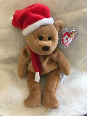 Ty Beanie Bear Retired/vintage Complete With Tag -1997 Teddy • 2.50£