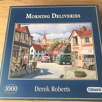 Gibsons 1000 Piece Jigsaw Puzzles Morning Deliveries  • 5£