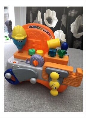 Chicco Talking Carpenter Toy Work Bench English French Excellent Condition • 10£