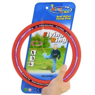 Kings Flying Rubber Ring Aerobie Frisbee Outdoor Toy Camping Kids Beach Holiday • 5.99£