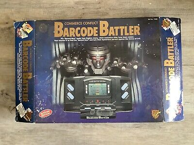 Tomy Barcode Battler, Commerce Conflict, Cards, Manuals, Extra Bar Codes, Used • 8.50£