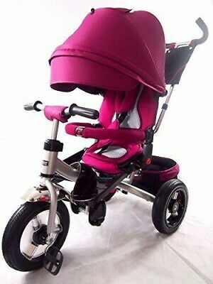 Little Tiger Kids Children Child Toddlers Trike Tricycle+rotating Reclining Purp • 139.99£