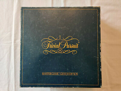 Hasbro Trivial Pursuit Classic Edition Board Game - CANADIAN Circa 1987 • 5.40£