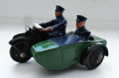 Dinky Toys Police Motor Cycle And Sidecar No 42b With Personnel • 6.99£