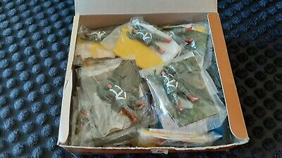 Timpo Toy Soldiers US Paratroopers 1:32 Scale X29 In Box • 149.99£