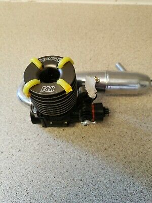 Hpi F4.6 Nitro Engine And Exhaust  New • 46£