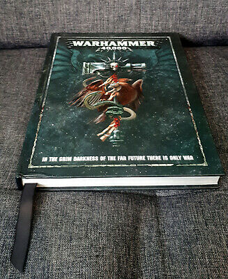 Games Workshop Warhammer 40 000 Rulebook (8th Edition) • 5£