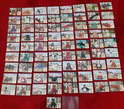 Large Collection Of Ty Beanie Babies Collectors Cards • 100£