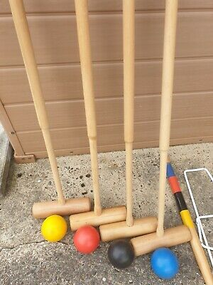 Croquet Set Adult 4 Player • 10£