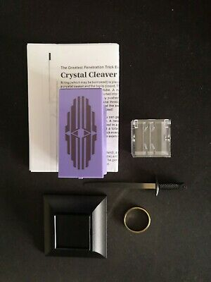 Crystal Cleaver By Tenyo Magic • 5£