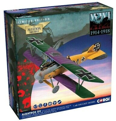 New Release Corgi 1:48th Scale Albatross D.V Martin Mallmann Diecast Model. • 44.99£