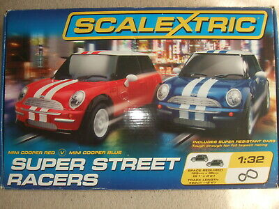 Complete Boxed Super Street Racers Scalextric Set. • 45£