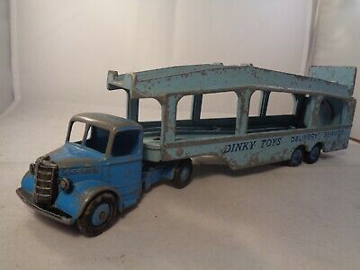 Dinky Toys No.982 Bedford Pullmore Car Transporter With Ramp , Vintage Diecast • 12.99£